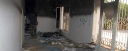 Gutted U.S. consulate in Benghazi, Libya / AP