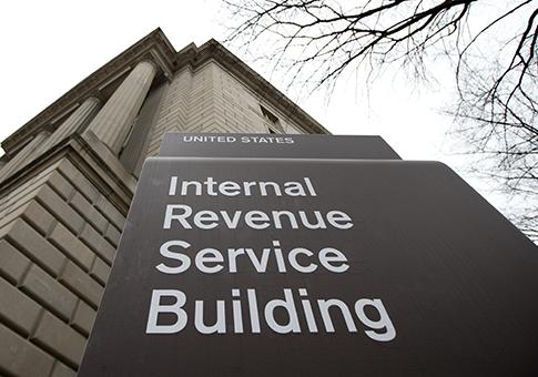 IRS building / AP