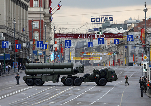 Russian S-400 ballistic missile defense system / AP