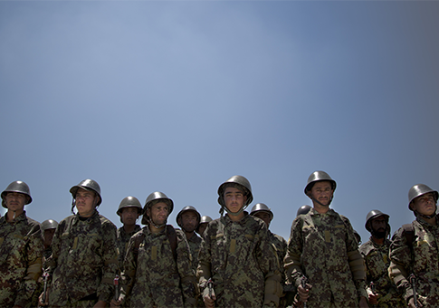 Afghan Army soldiers / AP