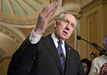 Harry Reid, Filibuster, Obama's appointees