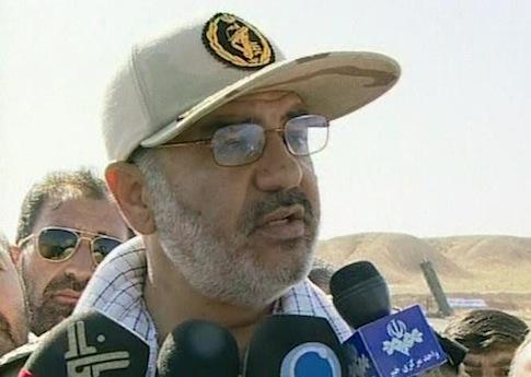 IRGC Brigadier General Hossein Salami / AP