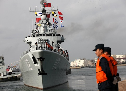 Chinese Navy / AP