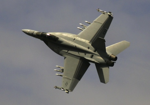 Boeing F-18 Super Hornet jet fighter / AP