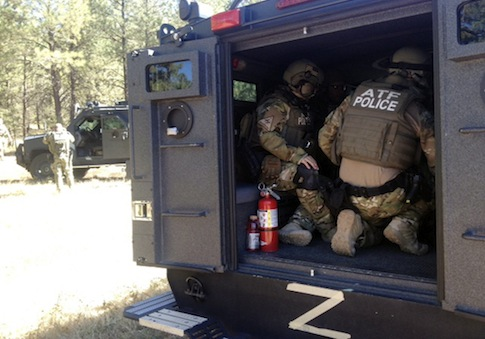 ATF agents / AP