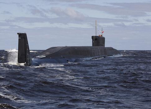 A Russian submarine / AP