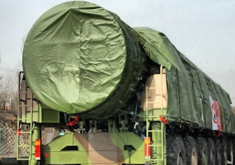 New photo of China's newest ICBM, the DF-41