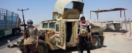 Islamic State group militants / AP