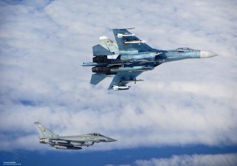 Su-27 intercept / European Leadership Network