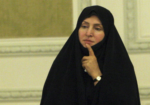 Marzieh Afkham, a spokeswoman for Iran's foreign ministry / AP