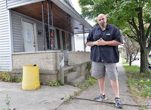 Braddock Mayor John Fetterman / AP