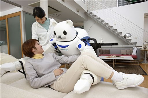 Feds Spend $1 Million Building Robot Nurses…