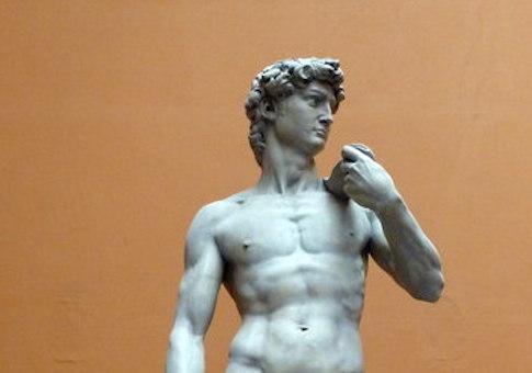 Michaelangelo's David / Wikimedia Commons