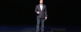 Galen Baughman, delivering a Tedx talk titled 'Are We All Sex Offenders?'
