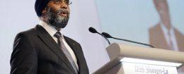 Canada's Defense Minister Harjit Sajjan / AP