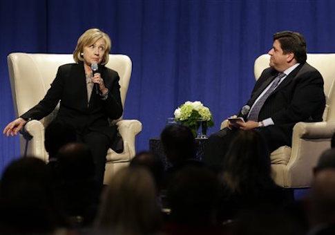 Hillary Rodham Clinton, J.B. Pritzker