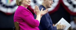 Hillary and Bill Clinton / AP