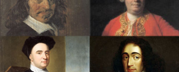 Rene Descartes, David Hume, George Berkely, Baruch Spinoza