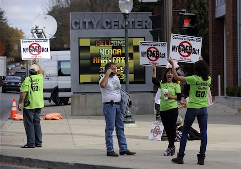 SAFE Act protest