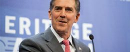 Former Sen. Jim DeMint, (R., S.C.), president of the Heritage Foundation / AP
