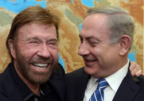 Netanyahu on Meeting With Chuck Norris: 'Israel Is Indestructible ...